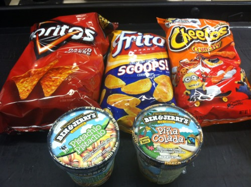 snacks from shoprite 😛