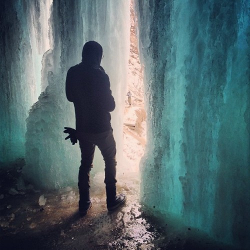 Harkmylord at Minnehaha Falls. 17 February 2013.