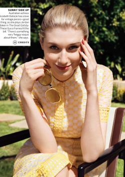 journaldelamode:  Elizabeth Debicki by Angelo Pennetta for Vogue US May 2013