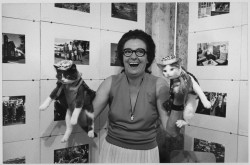 Mary Lunde (judge) with winners of the Trempealeau County Fair cat show, 1976. One last photo in honor of National Pet Week! via: Trempealeau County 1976: Images at the Bicentennial, Old Main Historical and Community Arts Center, Galesville, Wisconsin. Photo by Wade Britzius.