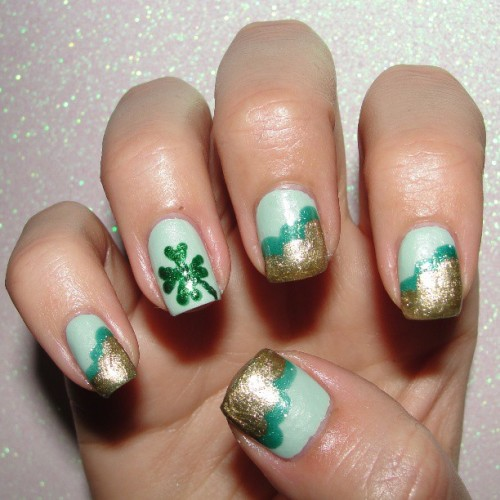 #NailArtMar #Luck #chinaglaze #keepcalmpainton #juliegnailpolish #undermistletoe #ornamental #zoya #holly #chinaglazekeepcalmpainton #juliegunderthemistletoe #juliegornamental #shamrocknails #fourleafclovernails #lucknails #cnlc #clnc #michellemealey #missjenfabulous #cloudmani #cloudnails #stpatricksdaynails #stpattysdaynails #notd #nailoftheday #nailsoftheday