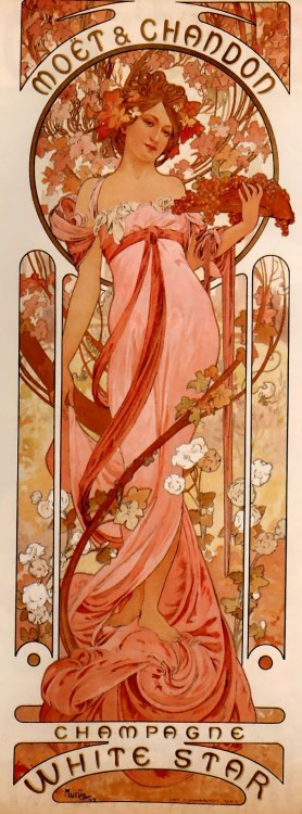 Alphonse Mucha Moët & Chandon White Star 1899