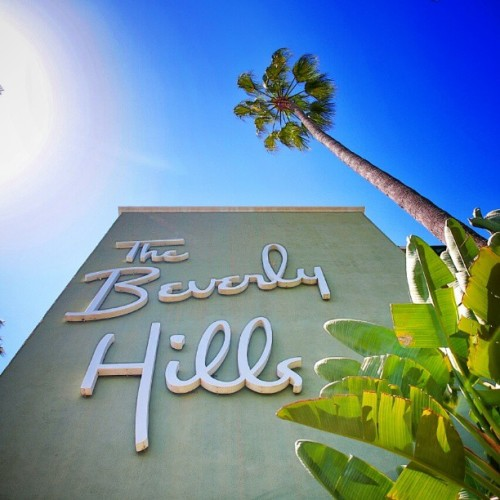 if anyone needs anything I'll be at the Beverly Hills Hotel for the week