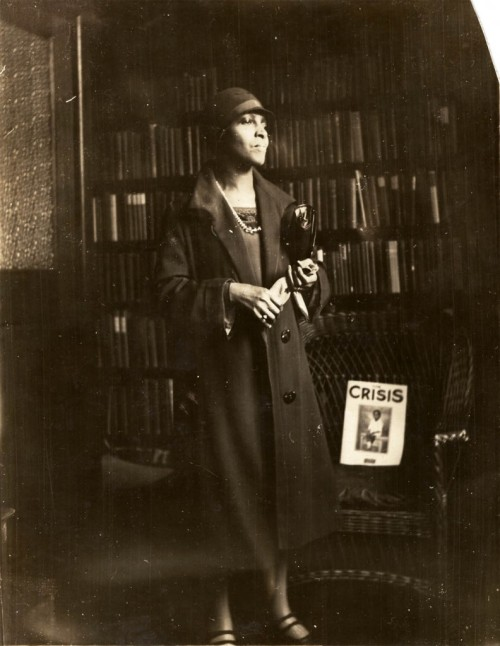 "Richetta Randolph Wallace, circa 1930. She was private secretary to Mary White Ovington, a writer, suffragist and one of the founders of the NAACP. She was also private secretary to James Weldon Johnson, attorney, poet, author (""Autobiography of an Ex-Colored Man) and composer of ""Lift Ev'ry Voice and Sing"") and the executive secretary of the NAACP, Walter White. Born in Virginia in 1884, Ms. Randolph moved to the Bedford-Stuyvesant section of Brooklyn in 1933 and remained until her death in 1971. Photo: Brooklyn Historical Society"