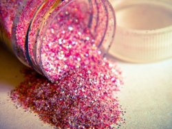 Glitter is always such a mess to clean up, but the fun is worth it!