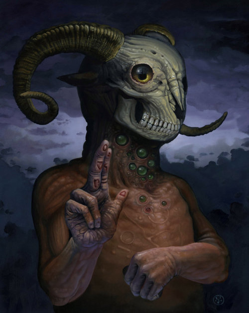 O Kakos Daimon by Jeff Christensen / posted by ianbrooks.me