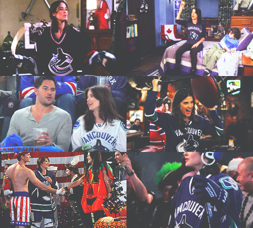"theyslayedthedragon:  How I Met Your Mother & The Vancouver Canucks  ""Lily, if one of the Vancouver Canucks walked in here,"" Robin explained, ""my panties would drop so hard, there would be a hole in the floor half-way to China."" - Robin Scherbatsky"