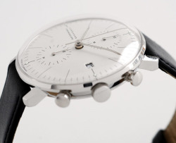adambabel:  [style] watch junghans max bill chronoscope