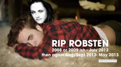 RIP Robsten (2013 edition)Dear ROBSTEN, We heard the rumor of your split from a few reliable sources(we peeked in your…View Post