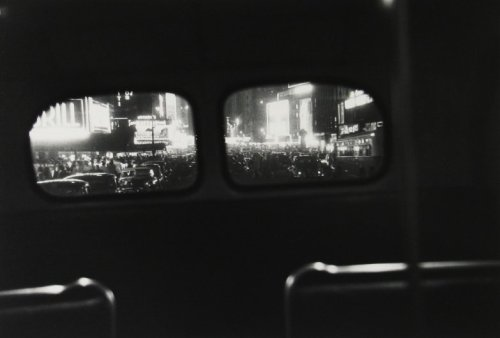 mpdrolet:  Bus No. 7, New York City, 1950 Louis Faurer