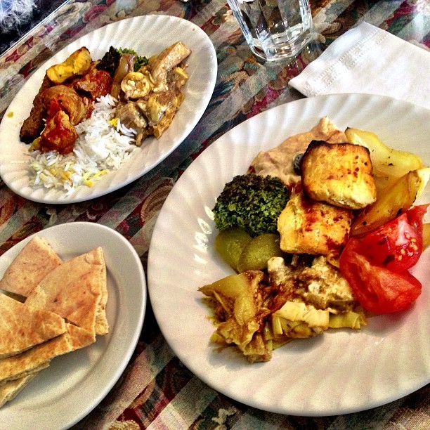 Persian Lunch #greateats w/ @liftedwhipkicks #PersianCusine #ethic #food #foodporn #igers #tumblr #baltimorerestaurants