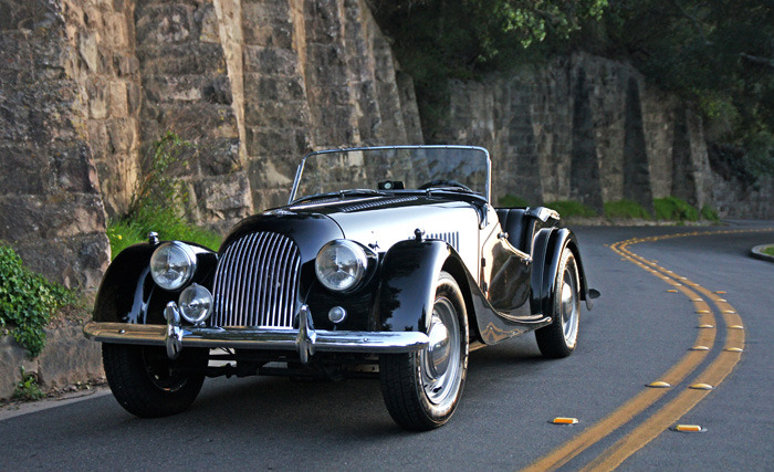 archaictires:  1963 Morgan Plus 4 Roadster
