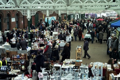 sunday market at tynemouth a few months back