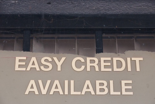 terrysdiary:  EASY CREDIT AVAILABLE