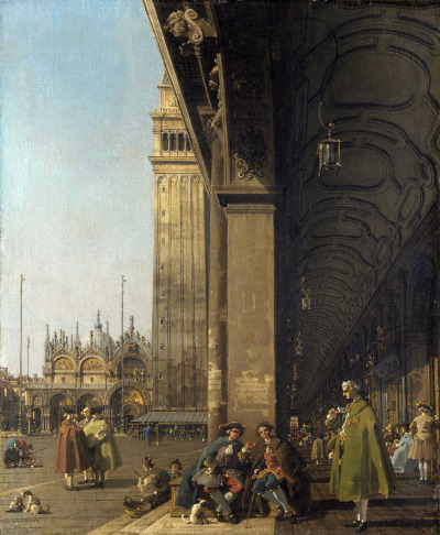 "tierradentro:  ""The Piazza San Marco"", c.1756, Canaletto. (via)"