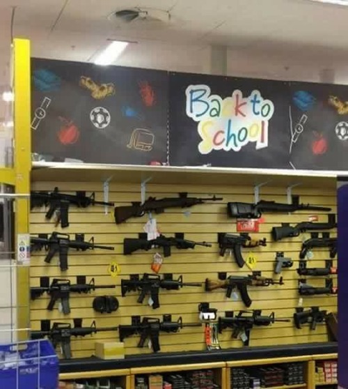 School Shooting Revolver: Meme School Shooting