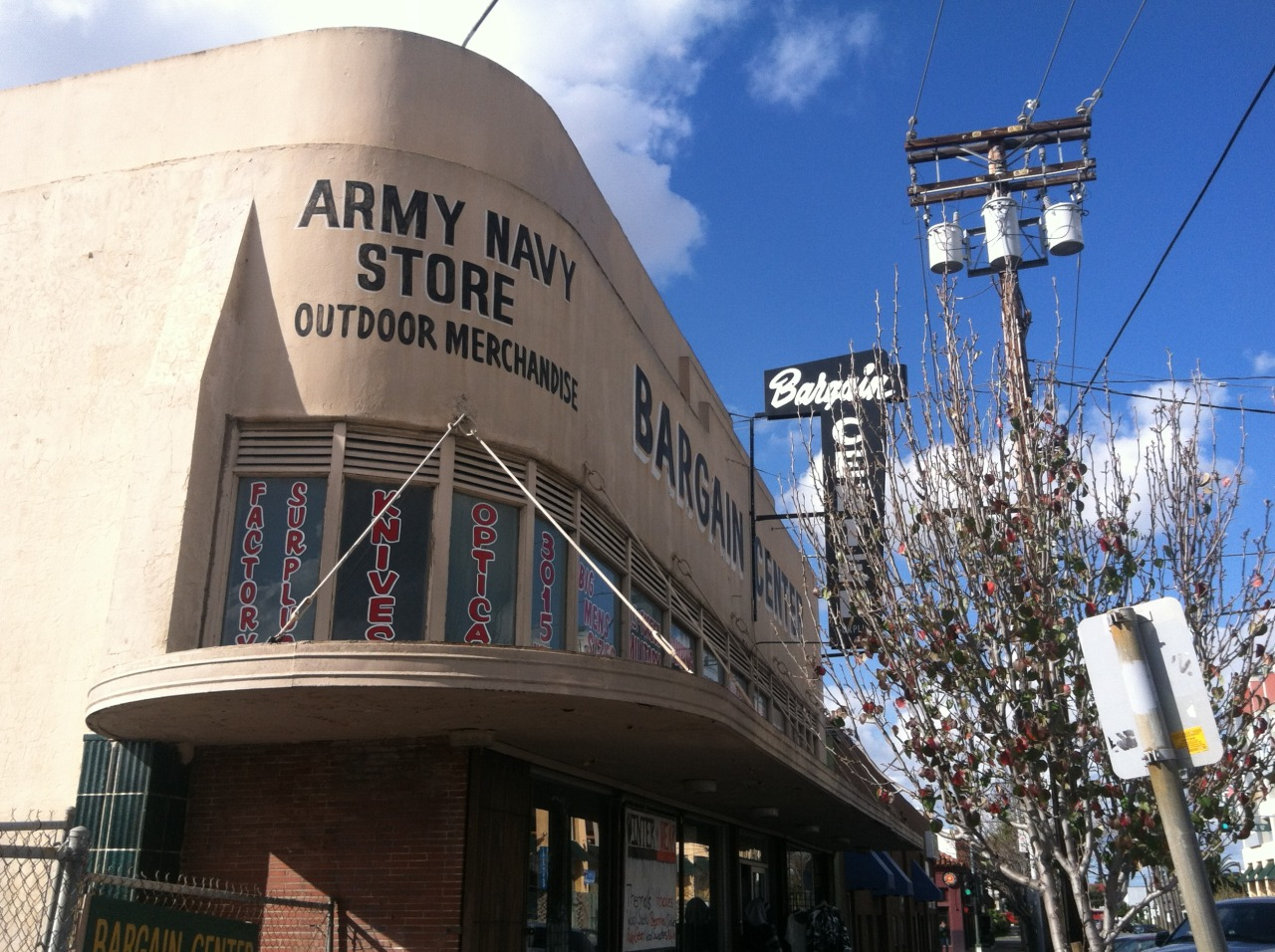Army Surplus. North Park, San Diego.