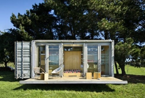 Port-a-Bach Container Home by Atelierworkshop