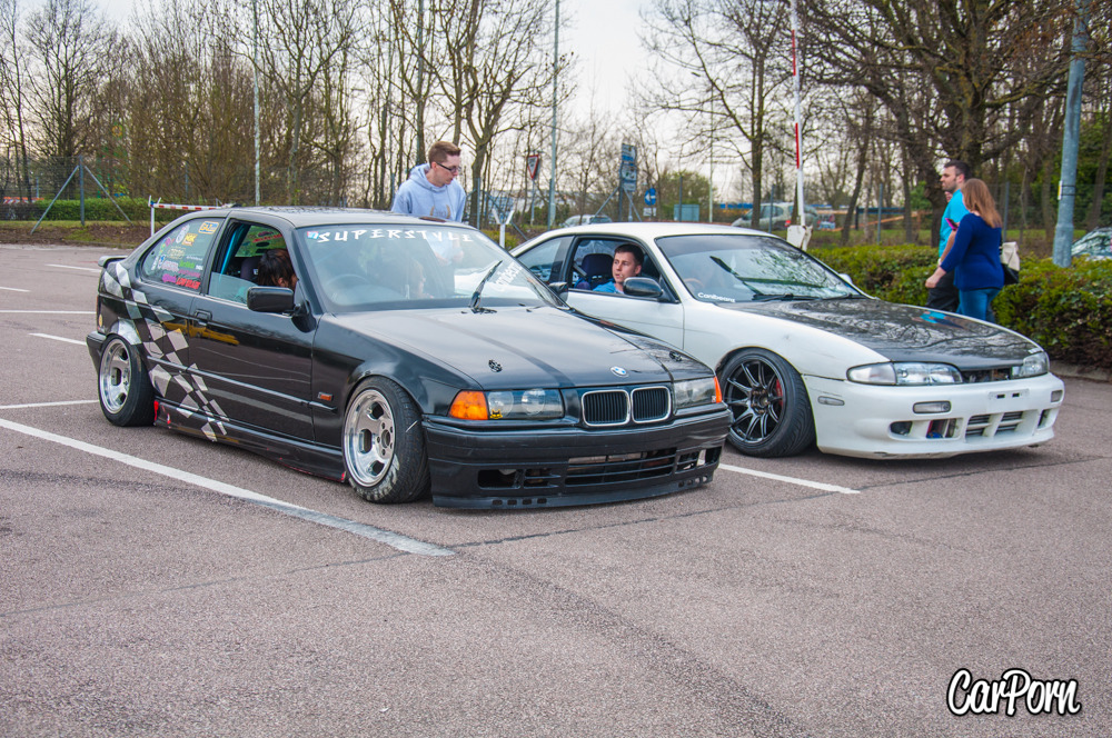 Superstyle BMW e36 and Potters S14