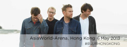 Hongkong! Share your memories of the gig tomorrow night via Facebook here http://smarturl.it/blurlive2013ft or using #BLURHONGKONG