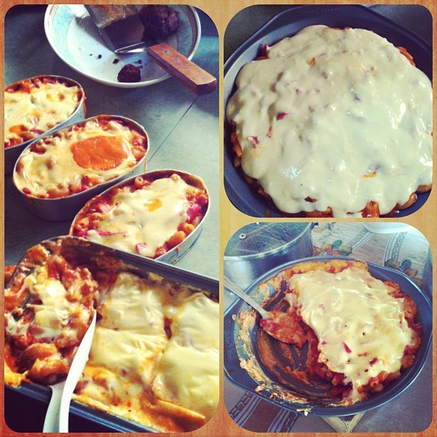 Home made Baked Mac by @annehartxxu ❤😋 #FamilyDay #MothersDay #happy #tummy #macaroni #yummy #homemade #igdaily #instadaily #instacollage