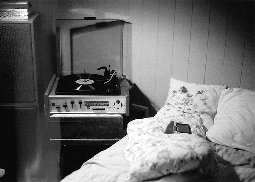 Me right now with some old jazz LP's :)