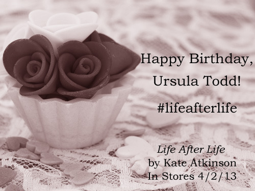 It's Ursula Todd's birthday! Celebrate with us by sharing this birthday card.   11 February 1910 An icy rush of air, a freezing slipstream on the newly exposed skin. She is, with no warning, outside the inside and the familiar wet, tropical world has suddenly evaporated. Exposed to the elements. A prawn peeled. A nut shelled. No breath. All the world come down to this. One breath. Little lungs, like dragonfly wings failing to inflate in the foreign atmosphere. No wind in the strangled pip. The buzzing of a thousand bees in the tiny curled pearl of an ear. Panic. The drowning girl, the falling bird.  Read more on Facebook.