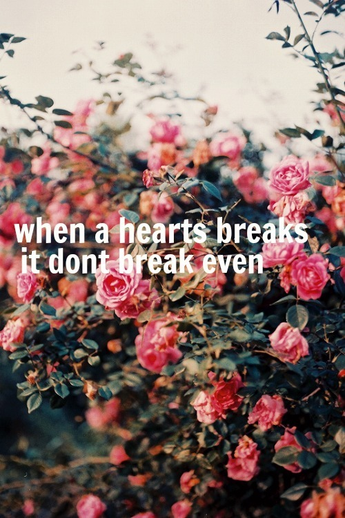 …break even