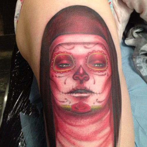 From a Sylvia Ji's painting. #sylviaji #ink #inked #tattoo #mysterytattooclub
