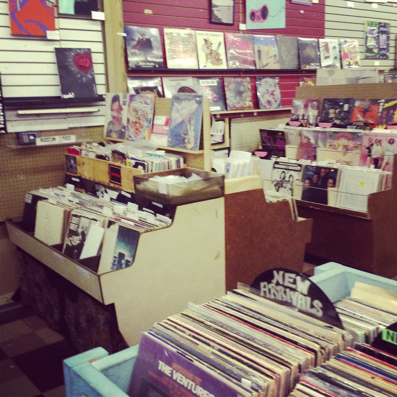 Excalibur vinyl and vintage. Like a second home