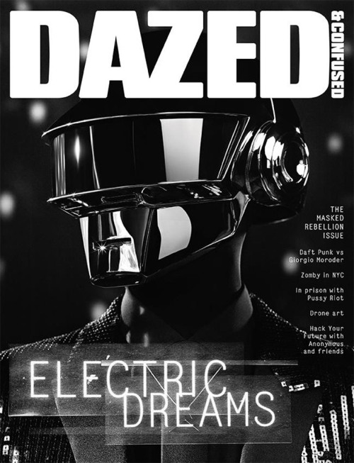 mirnah:  Daft Punk by Hedi Slimane for Dazed & Confused