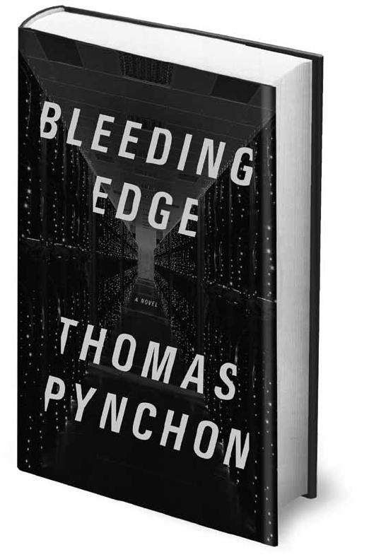 Hot off the press: the first page of Thomas Pynchon's forthcoming novel Bleeding Edge, which is due to hit shelves on September 17.