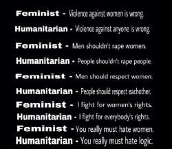 feminist humanism egalitarian anti feminist