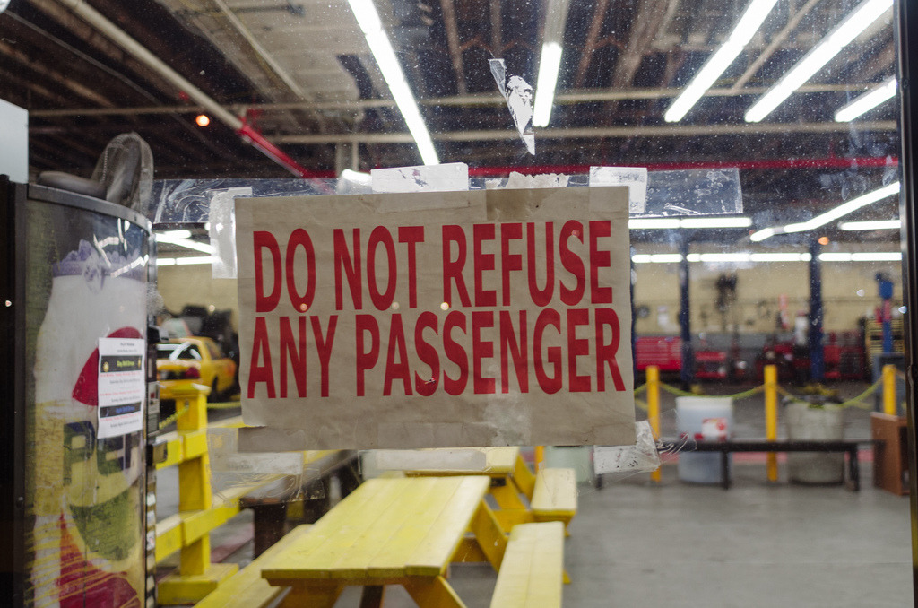 Do Not Refuse Any Passenger  Gowanus, Brooklyn