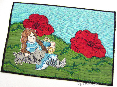 Dorothy in the Poppy Field by Jo (peaceofpi) on Flickr.