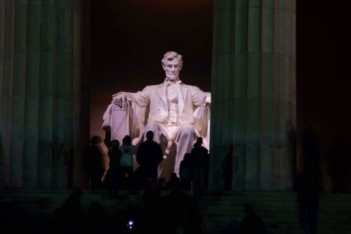 I always recommend that everyone do a night tour of Washington D.C., the monuments have a completely different feel. Fuji s5pro