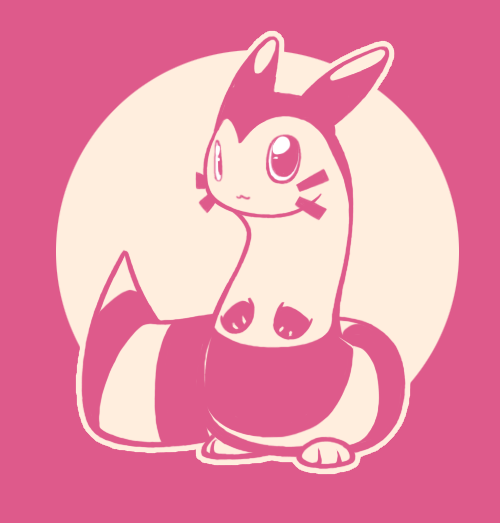 nnbtkenneth:  i recently caught a shiny furret in pearl and named him ravioli