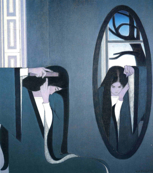Will Barnet - The mirror (1981)