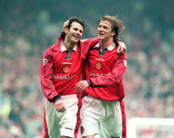 futbolintellect:  Legends of the game: Giggs and Beckham.