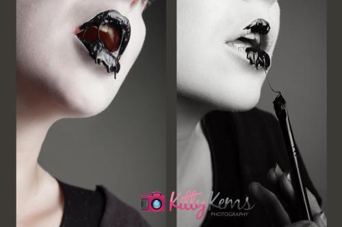 Model and MUA: Alice Bizarre Make Up / Alice BizarrePhotographer: Kitty KEMS PhotographyLipgloss made by Synthetic Doll xxx