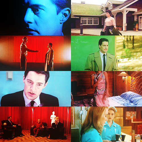 blacklodged:  SCREENCAP MEME | twin peaks, colors abound  for amanda.
