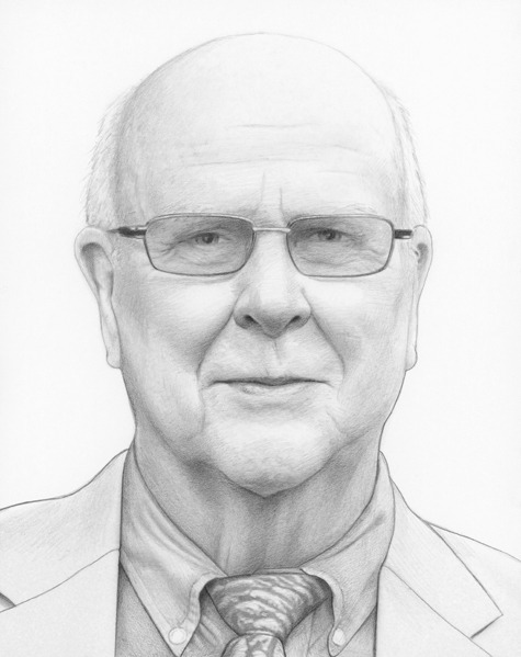 March 1, 2013 | Day 269 of 365 Dr. Michael Shapcott Happy Birthday Grandad! I love you!!! :)  www.DrawingADrawing.com [ 1 portrait a day for 1 year ]