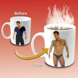 Disappearing Shirt Mug click on pic for more details