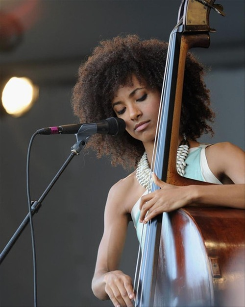 mfs:  Esperanza Spalding. (Autumn Leaves - Listen here)