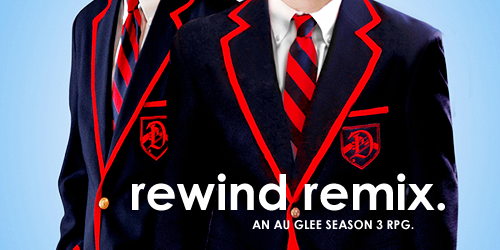 REWIND // REMIX is a S3 AU Warbler-centric game is looking for writers. For more info, visit us on rrmod.