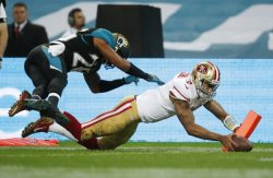 Kaepernick leads 49ers over Jags 42-10 in LondonLONDON (AP) — He ran. He threw. He conquered.