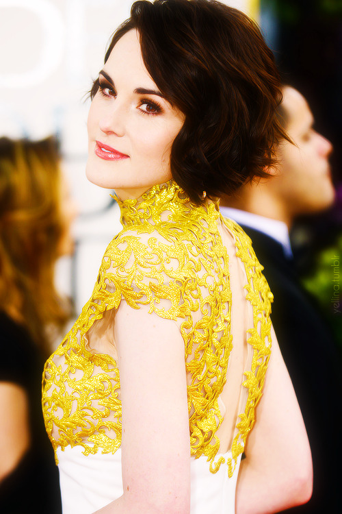 Golden Globes 2013 red carpet - Michelle Dockery