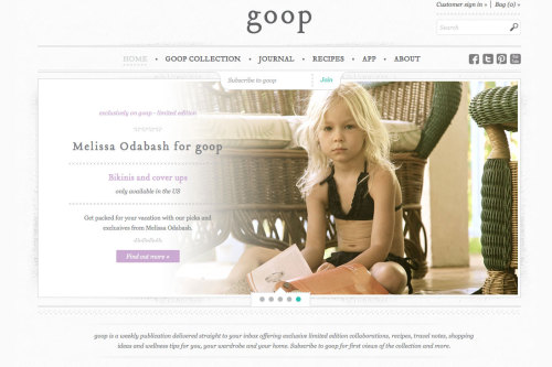 Gwyneth Paltrow Now Promoting Bikinis for 4-Year-Olds