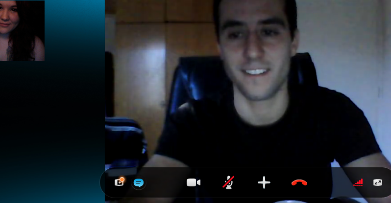 ugh i love skype with this sexy french man
