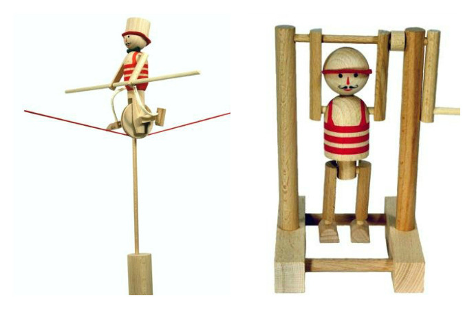 M.I.K. M.I.K. is a Czech manufacturer of traditional toys made of beech wood.  The company was founded in 1991. It produces great variety of wooden toys, construction kits, folders, games, mind-puzzles, learning toys, decorative products as well as commodities made for advertising purposes. (vía Břichopas about toys: M.I.K.)